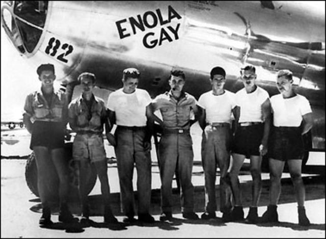Enola Gay Drops the Bomb