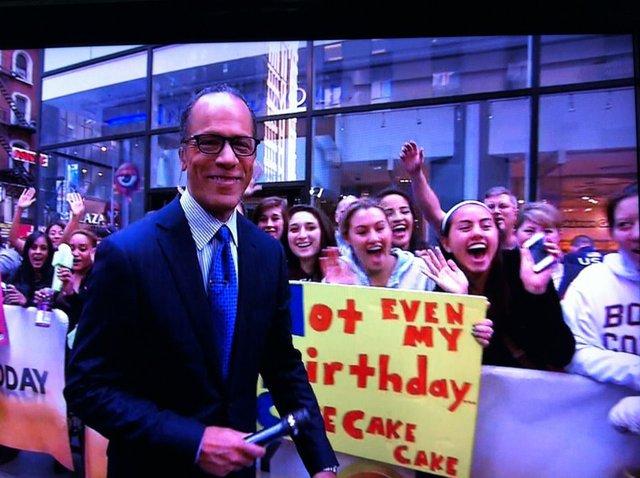 Yo estuve en la televisión