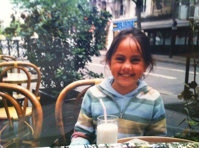 Fui a Paris con mi madre
