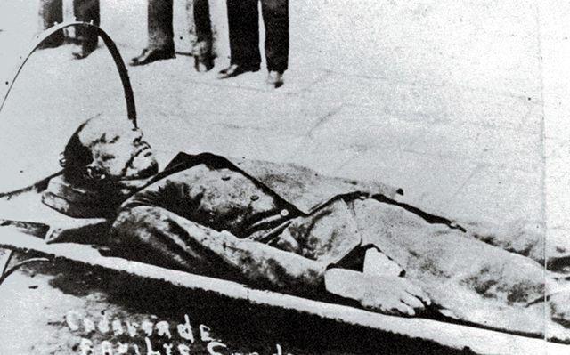 Gustavo Madero es asesinado.