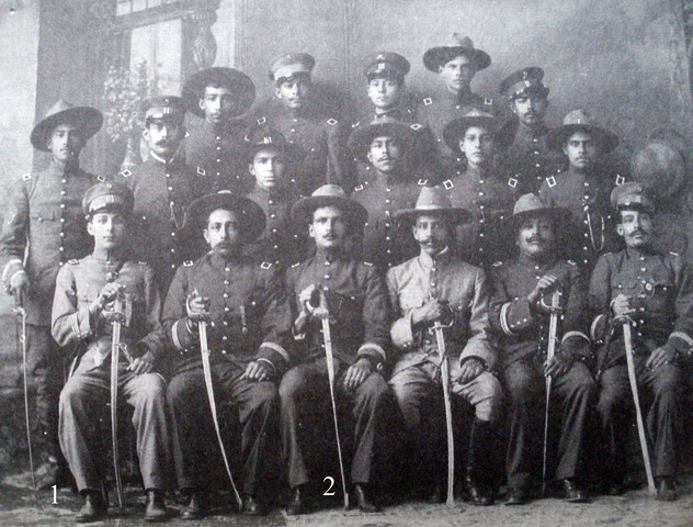 La División del Noroeste comandada por Obregón