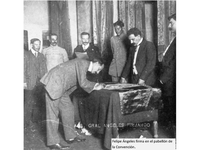 Inician las sesiones de la Convención Revolucionaria