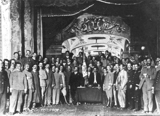 Convención en la ciudad de Aguascalientes.