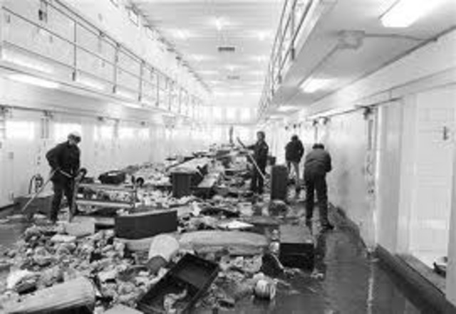 New Mexico State Penitentiary riot: Deadliest prison riot in U. S. occurred at New Mexico State Penitentiary