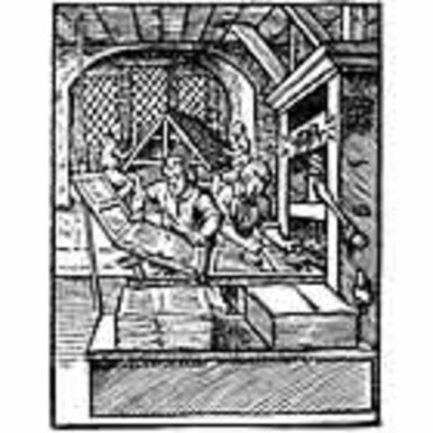 Возникновение цеха печатников