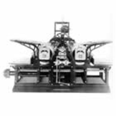 Паровая печатная машина Кёнига и Бауэра
