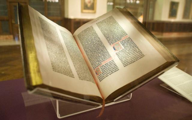 Самая первая печатная книга