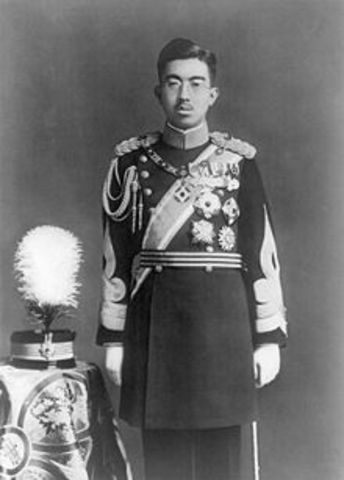 Hirohito becomes emperor of Japan