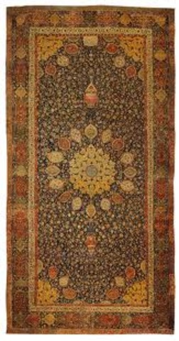 carpet from funerary mosque