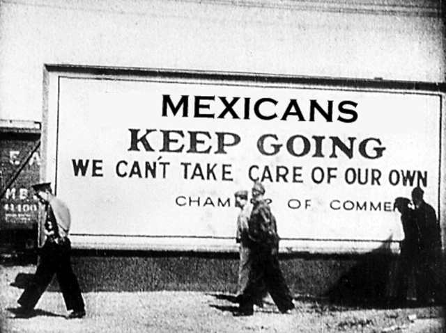 The deportation of Mexican Americans in the GreatDepression