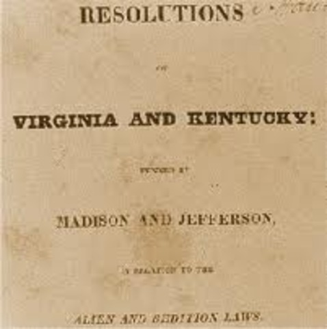 Kentucky & Virginia Resolutions