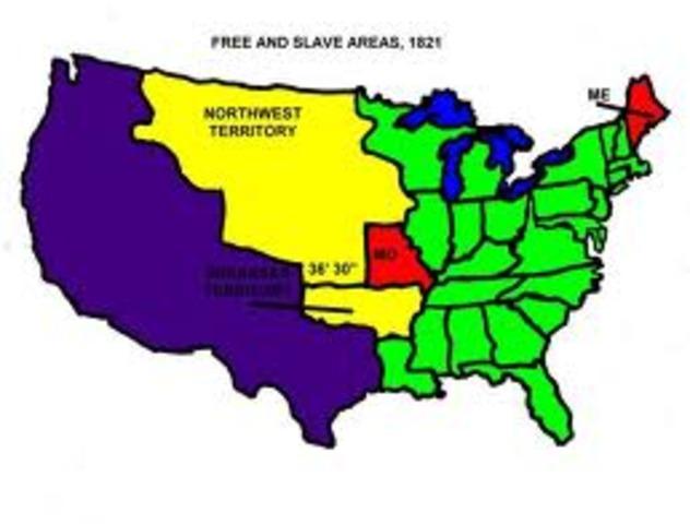 Missouri Compromise passed