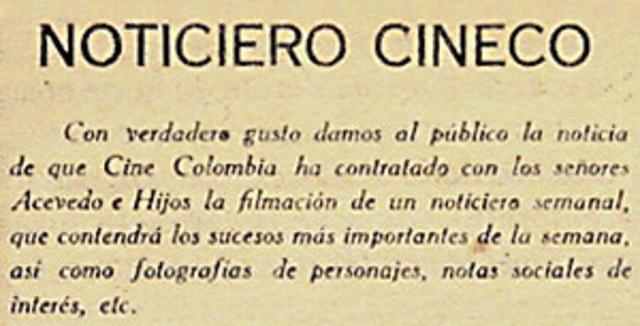 Primera empresa de cine en colombia
