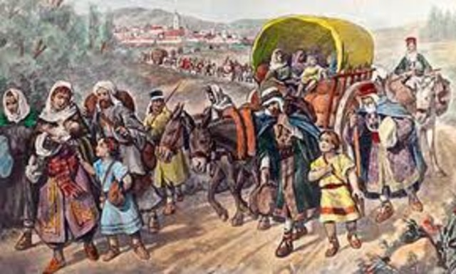 Salida de los Judios
