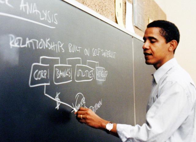 Enseigner et appliquer le droit à Chicago