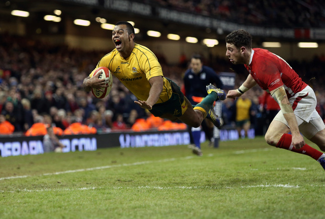 Last-gasp try costs Wales win over Australia