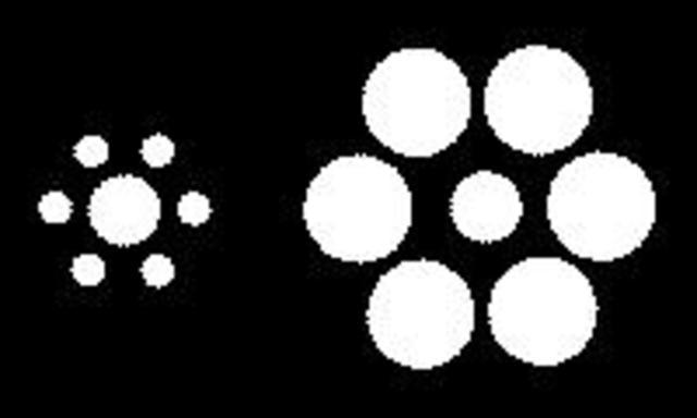 Эббингауз- Иллюзии восприятия размера