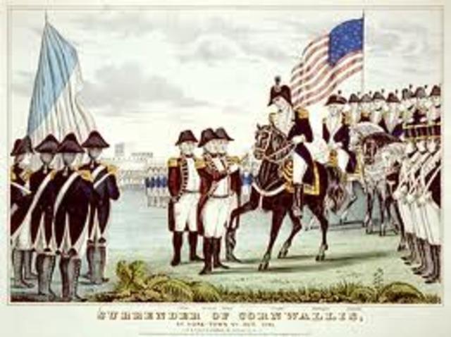End of Revolutionary War
