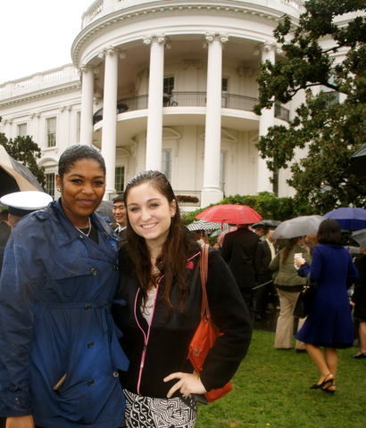 Fui a la Casa Blanca