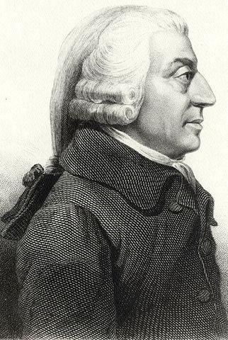 Adam Smith  1723- 1790