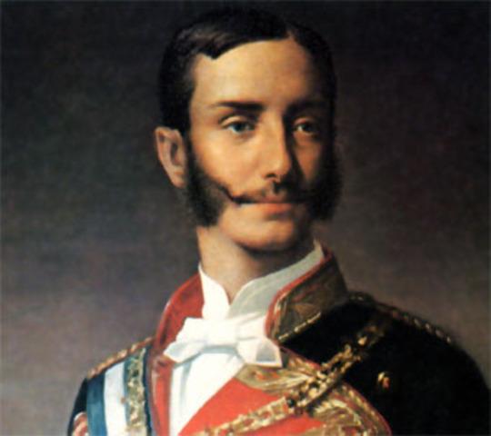 Alfonso XII restaura la monarquía