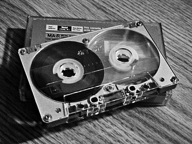First Audio Cassette Tape