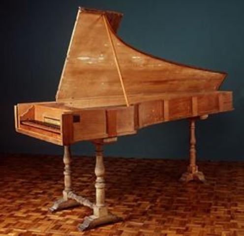Bartolomeo Cristofori invents the piano.
