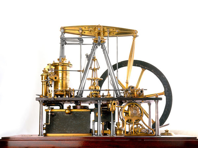 Thomas Newcomen patents the atmospheric steam engine.