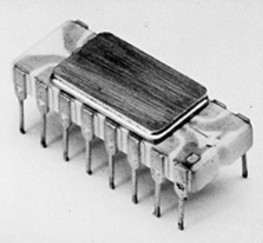 The First Microprocessor - Intel 4004