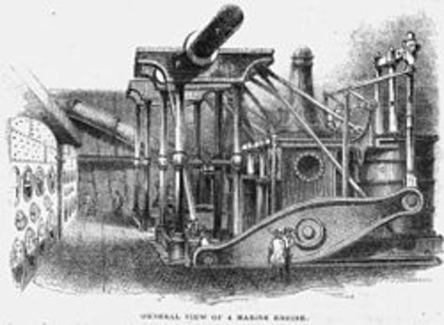 Jacques Perrier invents a steamship.