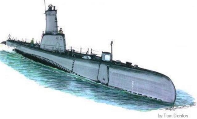 David Bushnell invents a submarine.