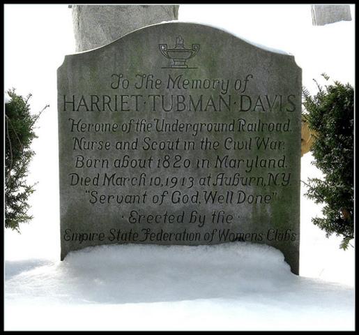 Death of Harriet Tubman