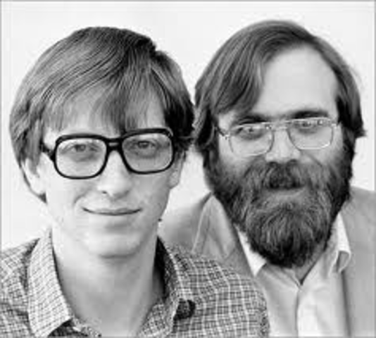Bill Gates and Paul Allen Complete BASIC
