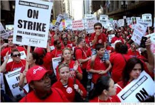 British Unions win right to strike