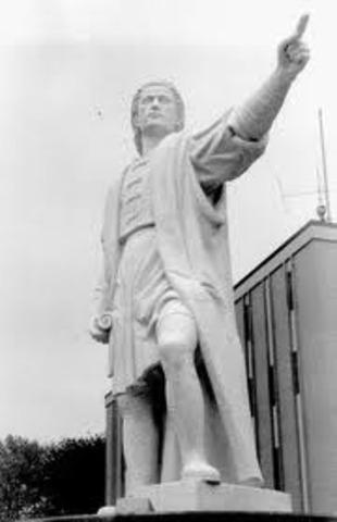 Christropher Columbus dies