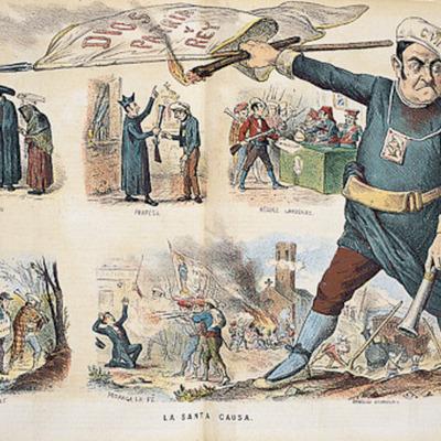 Revolucions absolutistes i liberals del s. XIX a Espanya timeline