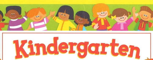 My first day in kindergarden!