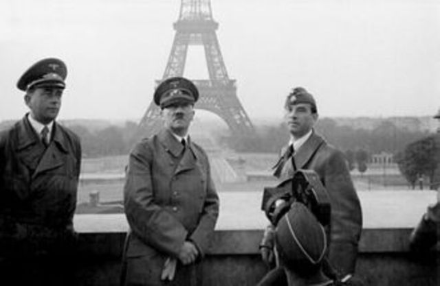 Germany attacks Western Europe