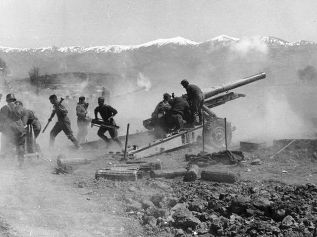Yugoslavia and Greece invaded