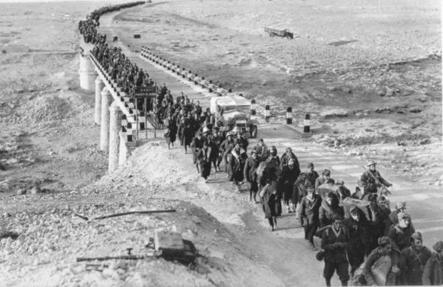 US and British forces land in North Africa