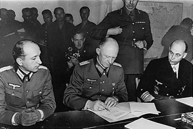 Germany Surrenders completely