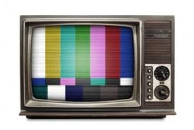 La televisión en color.