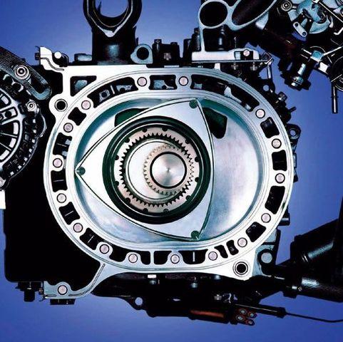 El primer prototipo del motor rotatorio