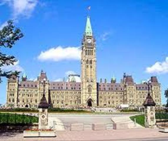 Premiere Session De Parlement Au Province Du Canada