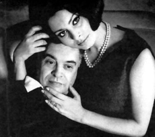 Lei ha sposato Carlo Ponti