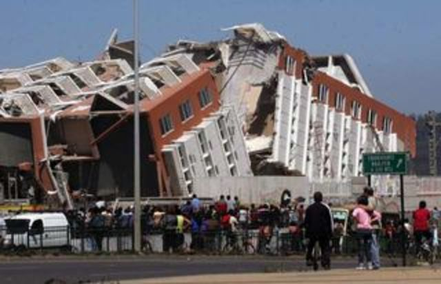 earthquake in southern Chile