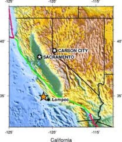 west of lompoc, california