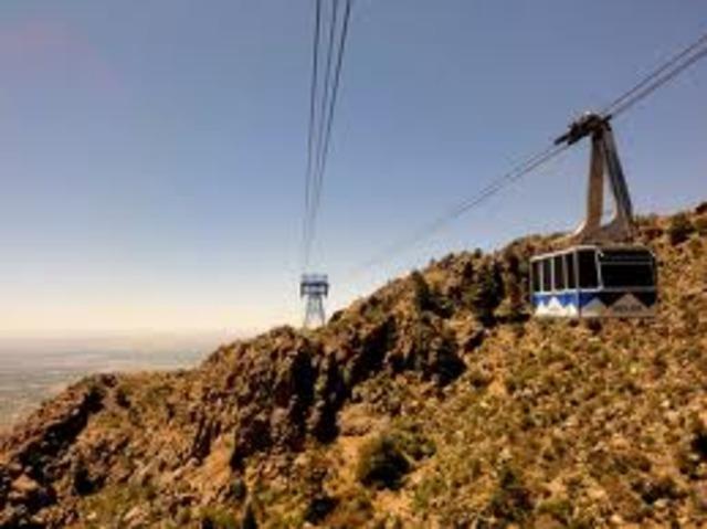 Sandia Peak Tramway was completed