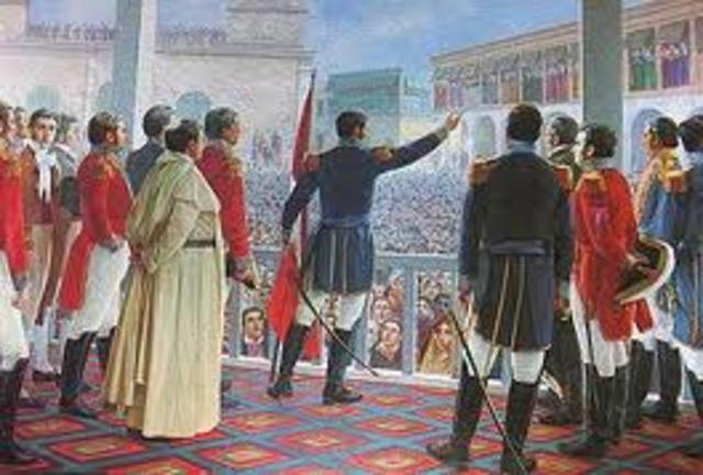 Independència  del Perú