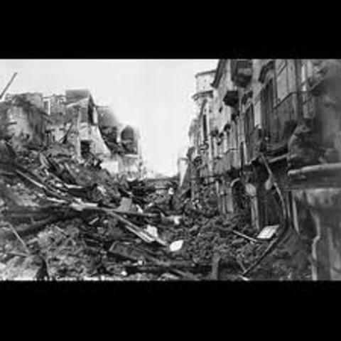 Japan - Hōei Earthquake
